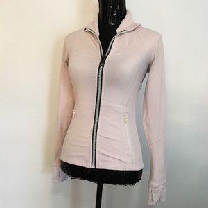 Lululemon define jacket light pink. Size 4
